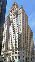 The Niels Esperson Building stood as the tallest building in Houston from 1927 to 1929.
