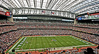 NRG Stadium is the home of the Houston Texans