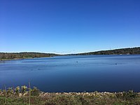 Lake Galena in Peace Valley Park