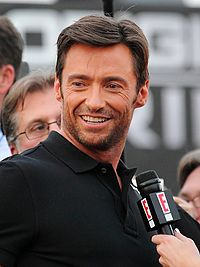 Hugh Jackman, who has played Wolverine in six X-Men films, three spin-off films, and one Night at the Museum film.
