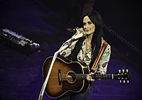 Several tracks from Kacey Musgraves' album Golden Hour drew praise from both pop and country critics.