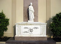 Liberace's tomb at Forest Lawn