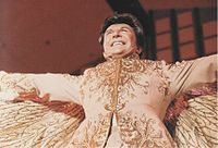 Liberace performing in 1983