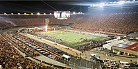 The Battle at Bristol college football game between the Tennessee Volunteers and Virginia Tech Hokies at Bristol Motor Speedway in 2016