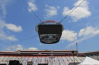 """""""Colossus TV"""" which replaced the old scoring pylon in 2016"""