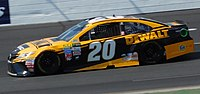 Kenseth during the 2017 Overton's 301
