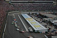 Martinsville Speedway, the race track where the race was held.