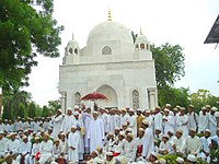 On 29-6-2009, the day when 29th Da'i Saiyedna Ali saheb became Da'i al-Mutlaq before 400 years, Alavi Bohras gathered in large numbers near Saiyedna Ali's tomb in Ahmedabad and 45th Da'i addressing the gathering