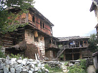 Traditional home, Manali