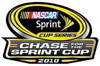 The logo for the 2010 Chase for the Sprint Cup