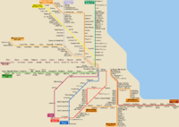 List of Metra stations