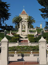 The Lone Mountain Campus of the University of San Francisco