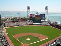 Oracle Park opened in 2000.