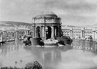 The Palace of Fine Arts at the 1915 Panama–Pacific Exposition