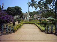 Margao Municipal Garden, located in the heart of the city.