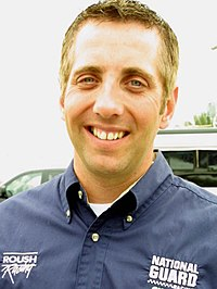 Greg Biffle (pictured in 2004) had the eleventh pole position of his career with a time of 27.281 seconds.