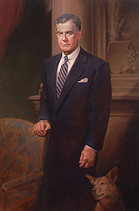 Official portrait as chairman of the Agriculture Committee