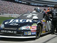 Clint Bowyer in the No. 07 car in 2007.