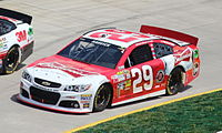 Harvick in the 2013 STP Gas Booster 500 at Martinsville Speedway.