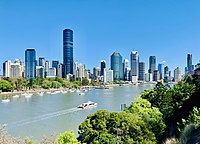 Brisbane, capital and most populous city of Queensland