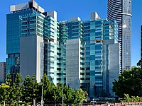 Queen Elizabeth II Courts of Law, headquarters of the Supreme Court of Queensland and District Court of Queensland