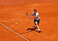 Nadal at the 2013 Mutua Madrid Open