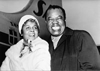 Armstrong with Lucille Wilson (c. 1960s)