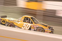 The 50 truck in 2007 driven by Danny O'Quinn Jr..