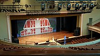The Grand Ole Opry, which was recorded in Nashville's Ryman Auditorium from 1943 to 1974, is the longest-running radio broadcast in US history.