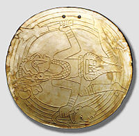 Mississippian-period shell gorget, Castalian Springs, Sumner County