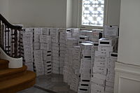 A purchase of additional storage at the Internet Archive