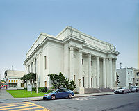 Since late 2009, the headquarters of the Internet Archive has been the building that formerly housed the Fourth Church of Christ, Scientist (San Francisco, California).