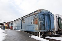 Baggage car mistakenly identified as Franklin D. Roosevelt's personal car
