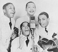 Bill Kenny with The Ink Spots