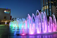 Fountains at Curtis Hixon Waterfront Park