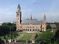 The Peace Palace (Vredespaleis), in The Hague