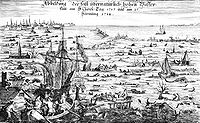 The Christmas flood of 1717 was the result of a northwesterly storm that resulted in the death of thousands.