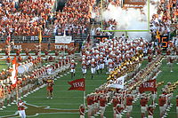 The opening of College football season is a major part of American pastime. Massive marching bands, cheerleaders, and colorguard are common at American football games