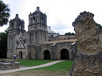 Completed in 1716, San Antonio Missions National Historical Park is one of numerous surviving colonial Spanish missions in the United States. These were primarily used to convert the Native Americans to Roman Catholicism