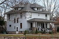 The American Foursquare was a popular house style from the late 19th century until the 1930s