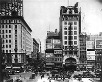 The Palace Theatre is part of Broadway, one of the highest levels of commercial theatre in the English-speaking world
