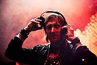 Guetta on the One Love Tour, March 2010