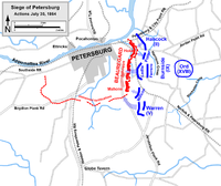 Siege of Petersburg, Battle of the Crater, July 30