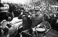 Prague liberated by the Red Army in May 1945
