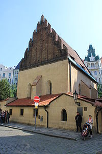 Old New Synagogue is Europe's oldest active synagogue. Legend has Golem lying in the loft