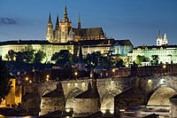 Prague Castle is the biggest ancient castle in the world