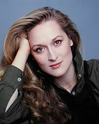 Meryl Streep on screen and stage