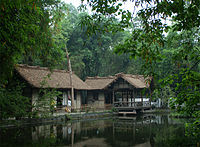 Du Fu Thatched Cottage in Sichuan.