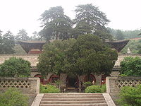 The Grand East Hall of the Foguang Temple in Mount Wutai