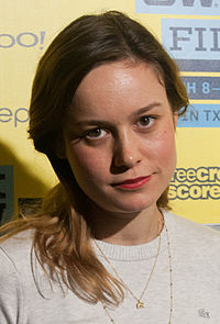 Larson at the premiere of Short Term 12 at the 2013 South by Southwest